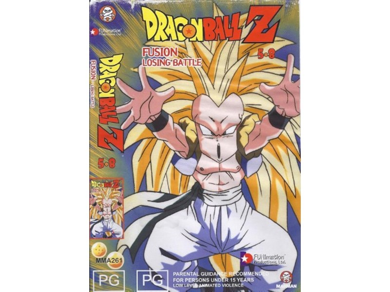 Dragon Ball Z Fusion Losing Battle 5 8 PG