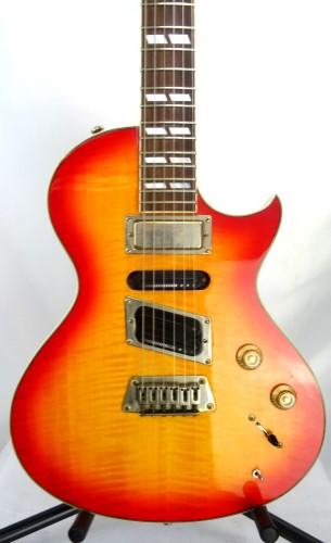 Gibson Epiphone Original 1990s Nighthawk Electric Guitar Orange
