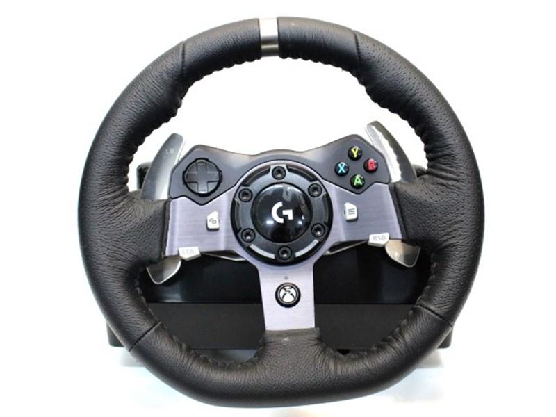 logitech steering wheel Xbox One BLACK Aftermarket Controller