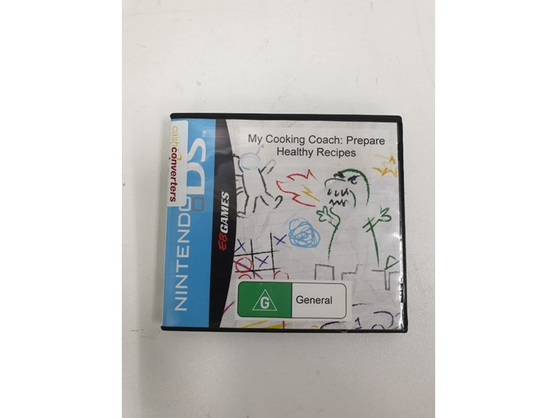 drawing games for nintendo ds My Cooking Coach Prepare Healthy Recipes Nintendo DS