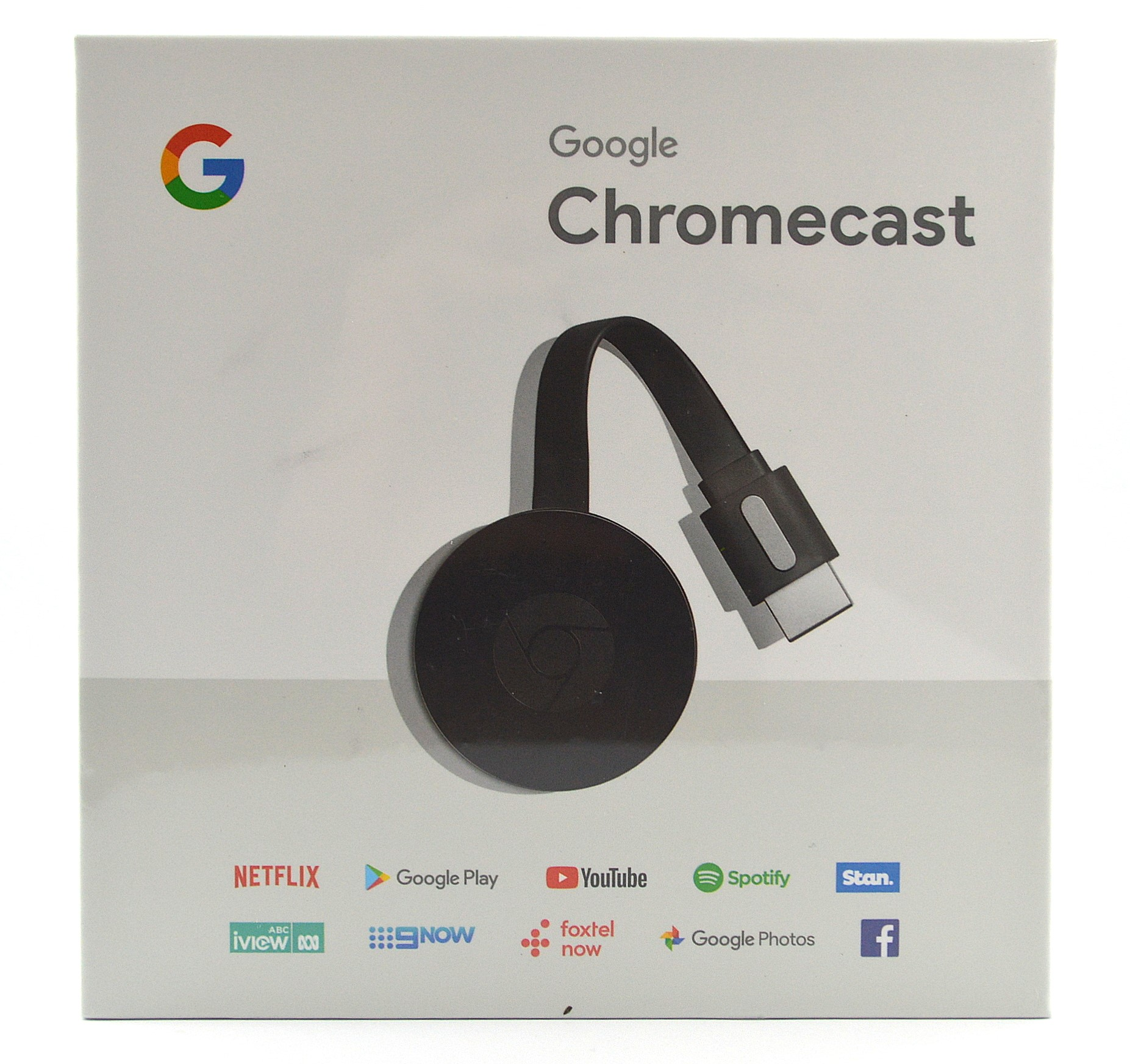 Google Chromecast NC2-6A5 BLACK