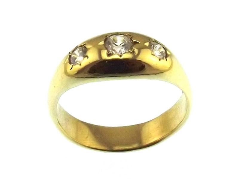 9ct Yellow Gold Ladies Ring R