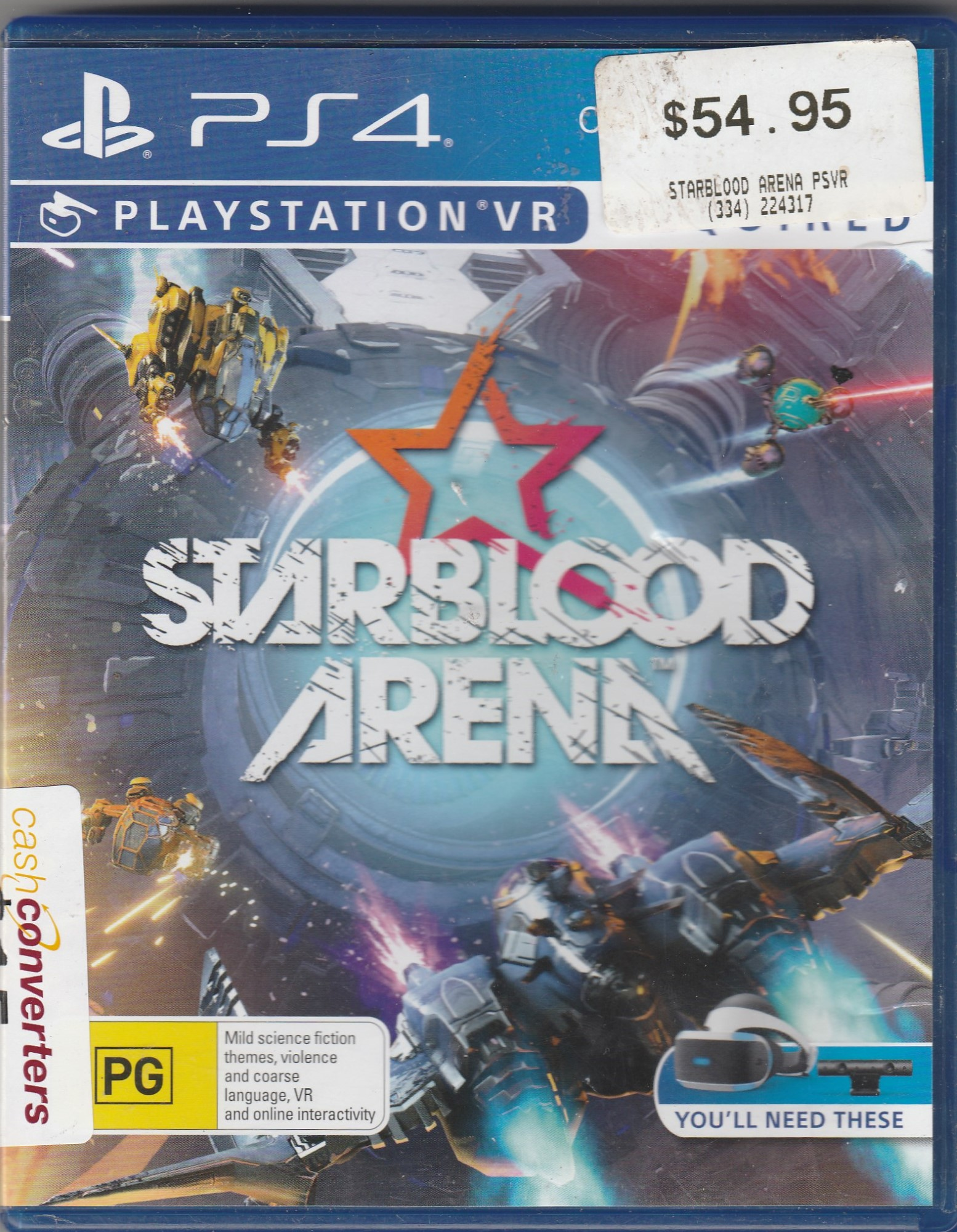 Game Disc - Other Starblood Arena