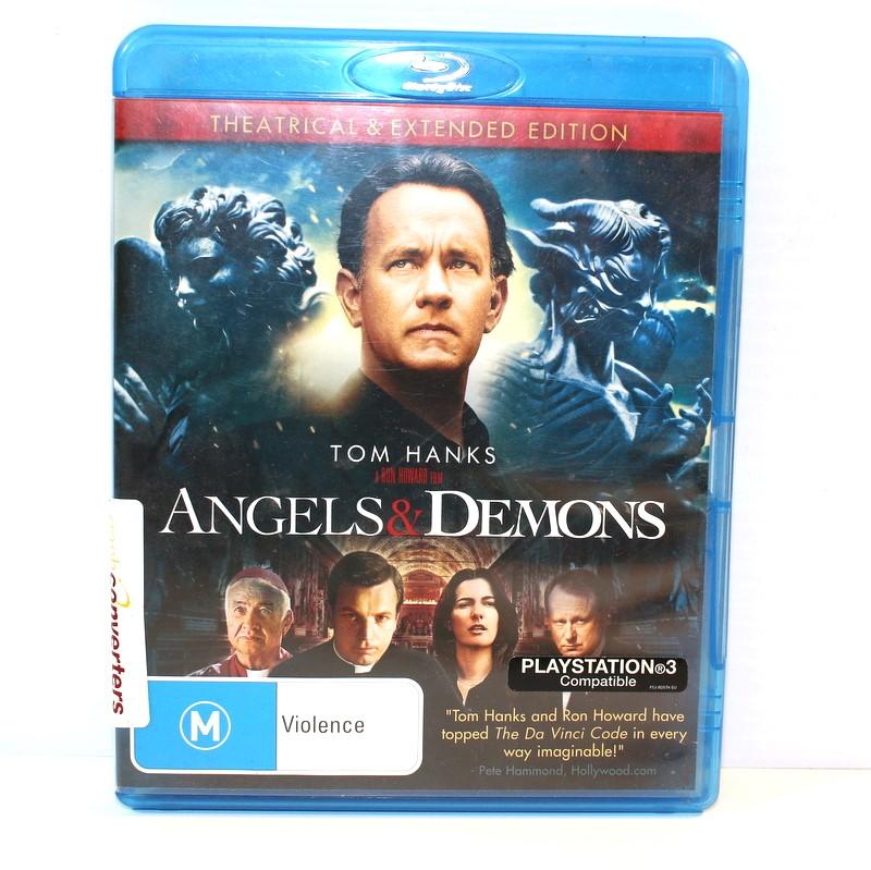 Blu Ray Disc Angels Demons