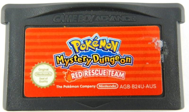 pokemon mystery dungeon gba games