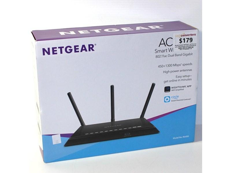 Netgear Ac1750 Black