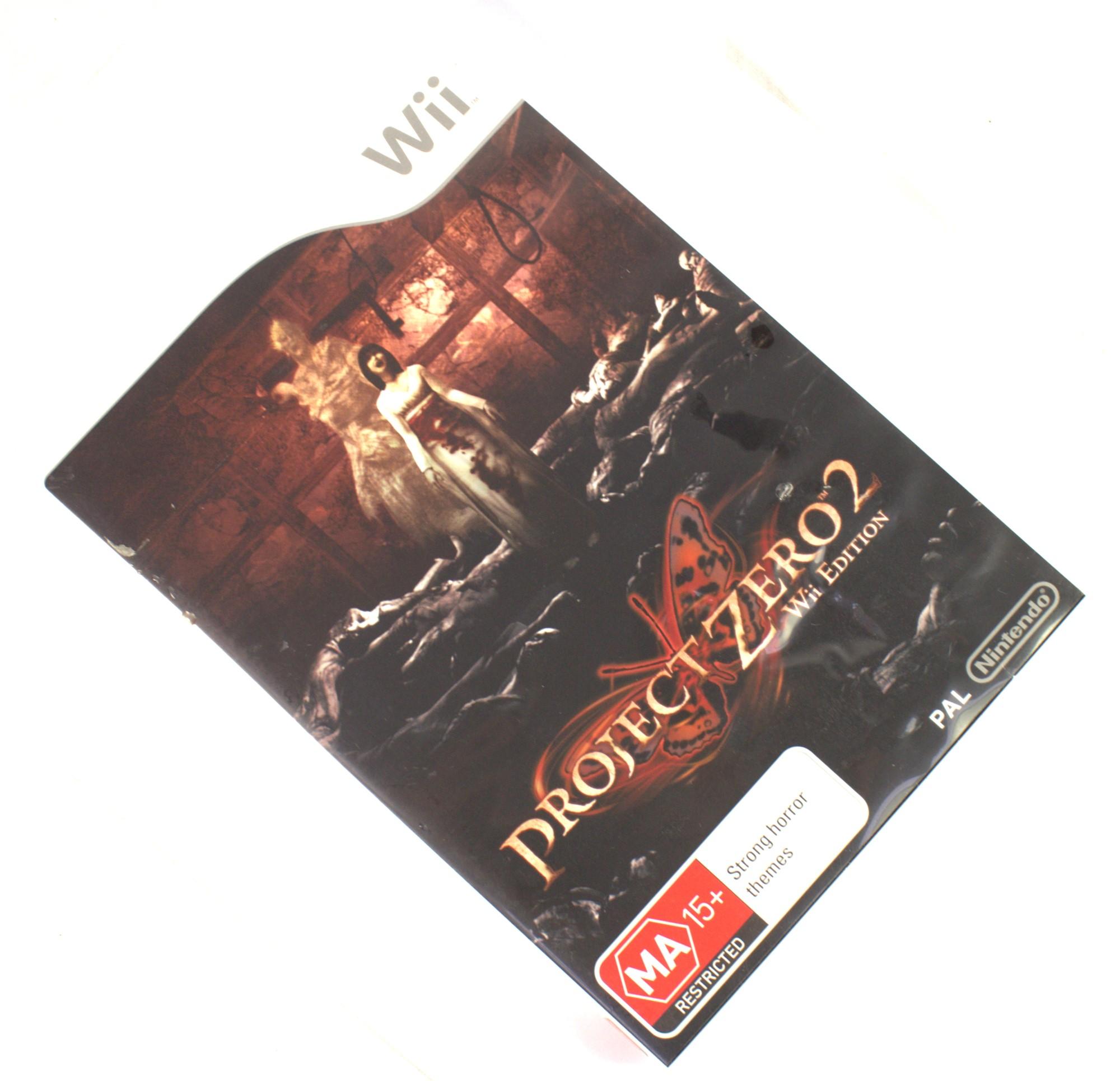 PROJECT ZERO 2 Nintendo Wii