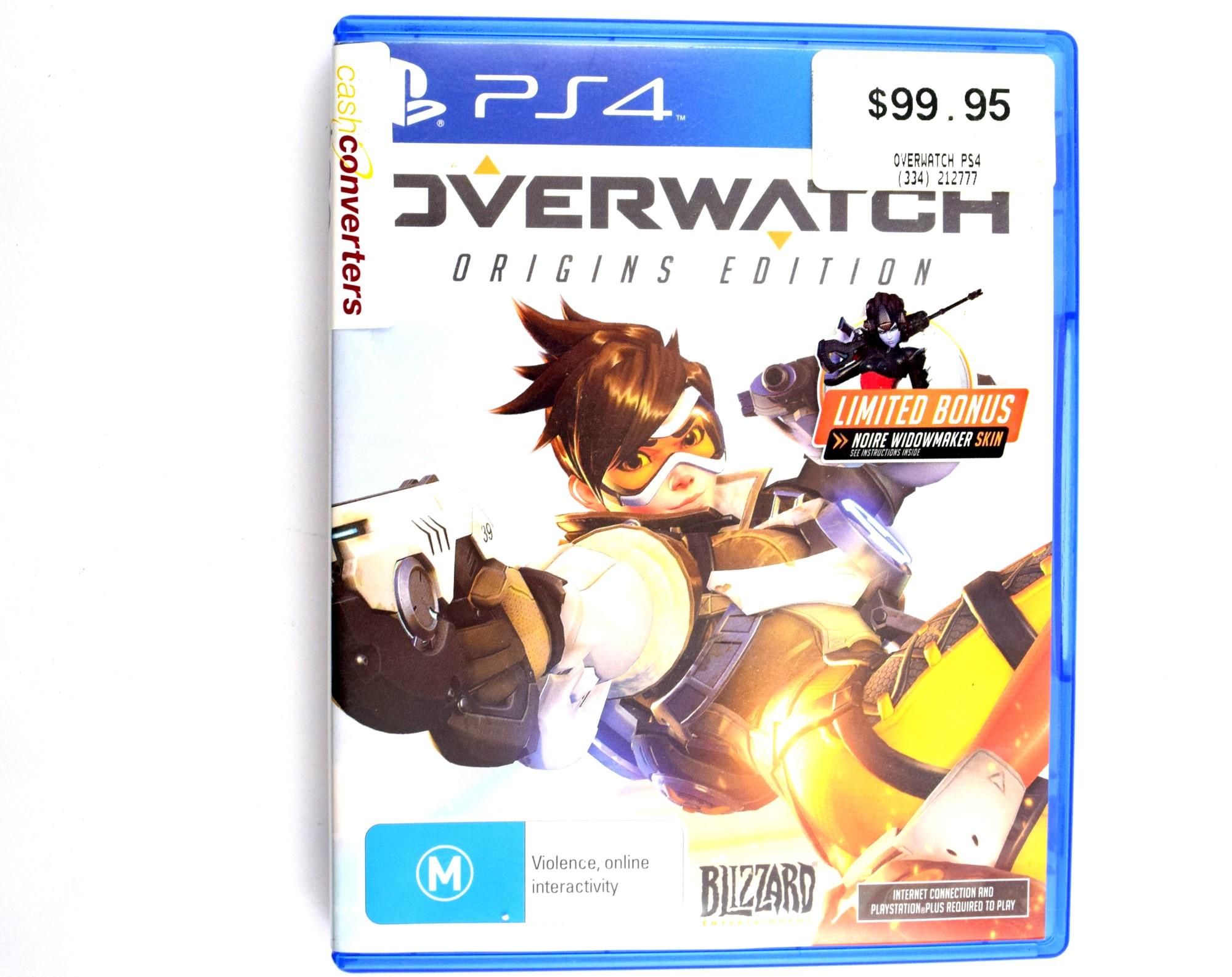 Overwatch Playstation 4