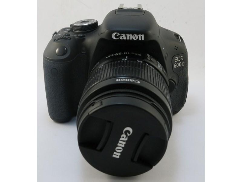 CANON EOS 600D DS126311 BLACK