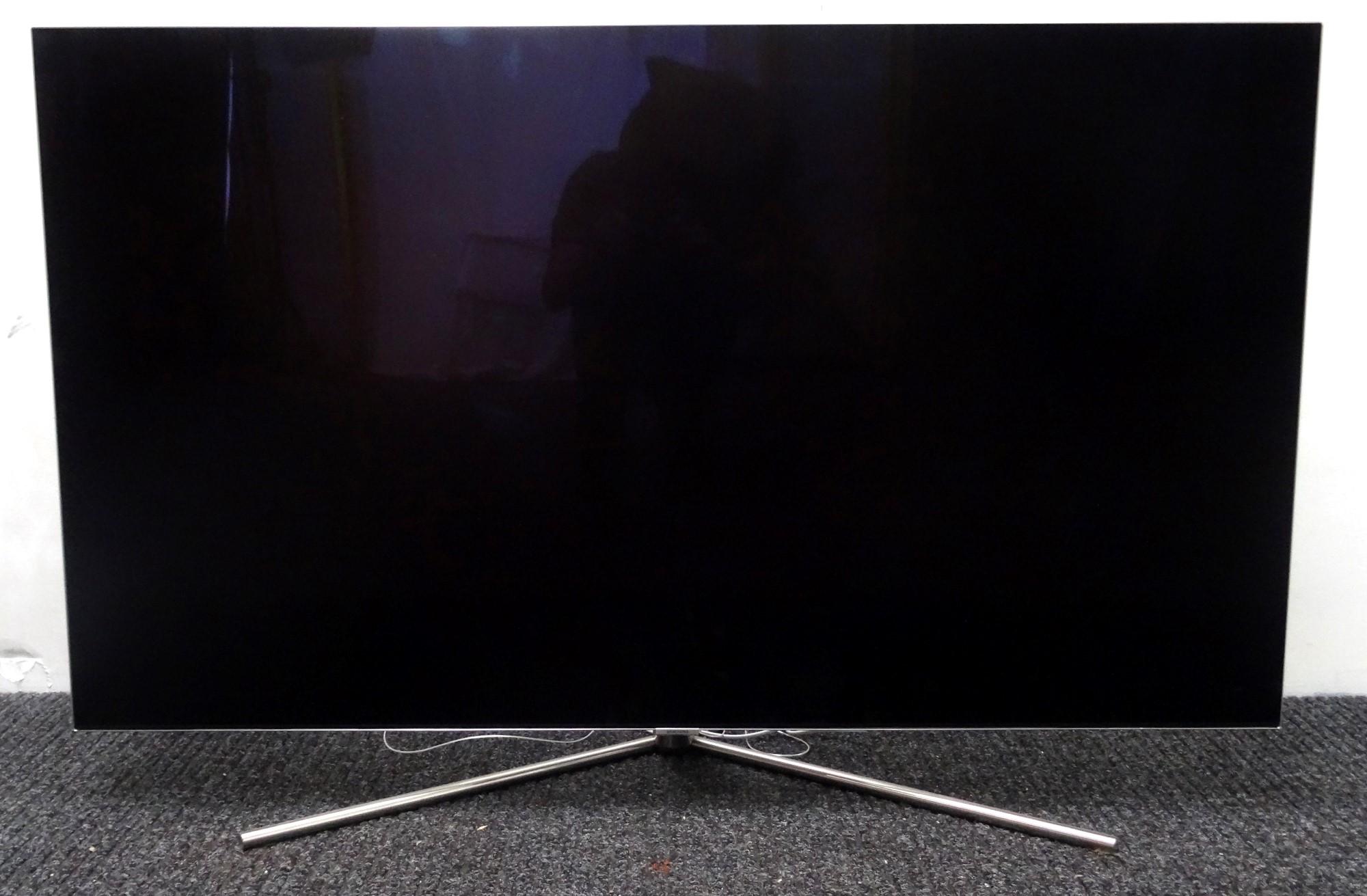 Samsung Series 7 55 inch Q7 UHD QLED TV 55 inch SILVER