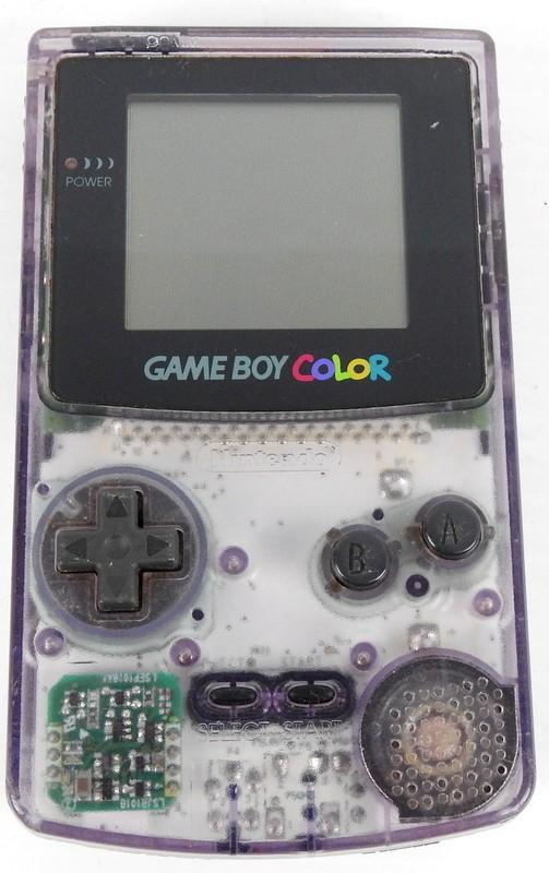 Nintendo Game Boy Colour Purple