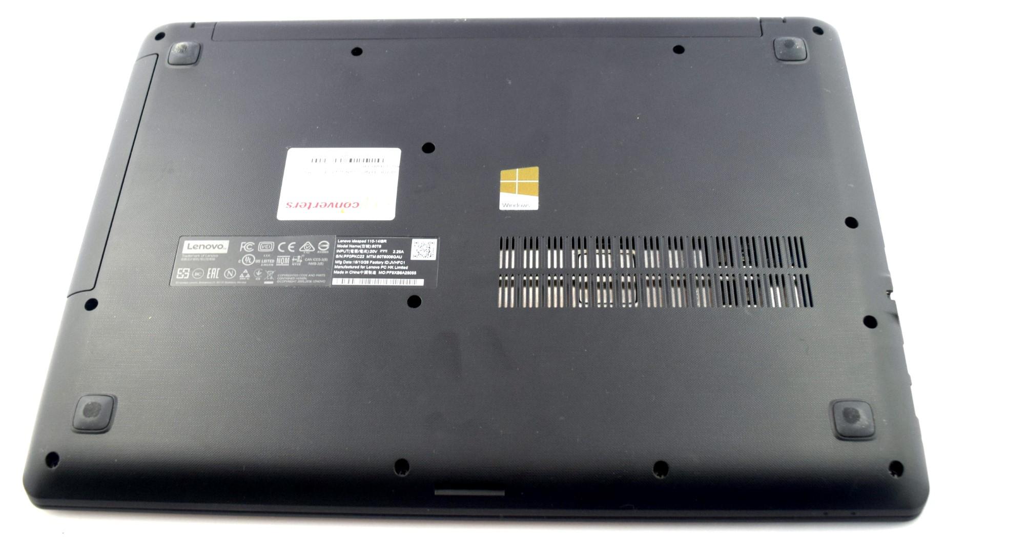 Lenovo Ideapad 110 4GB 500GB BLACK