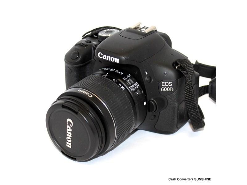 Canon EOS 600D DS126311 18 BLACK
