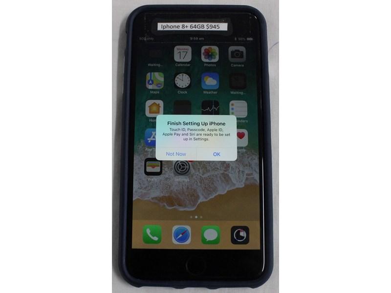 Apple iPhone 8+ 64Gb A1864 64GB BLACK