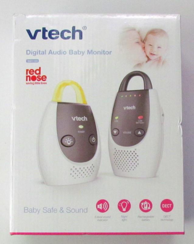 NEW Baby Monitor VTech BM1100 Safe /& Sound Audio