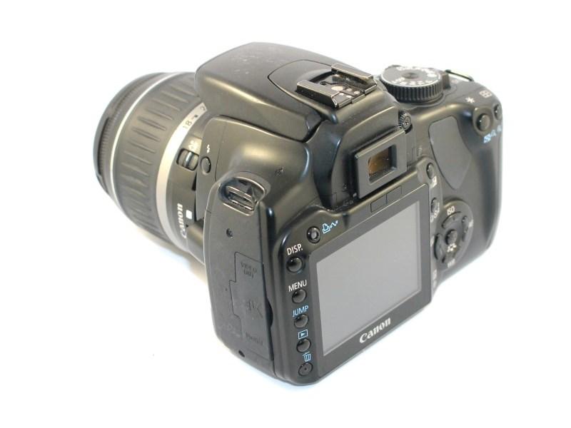 Canon Eos 400D DS126151 Black