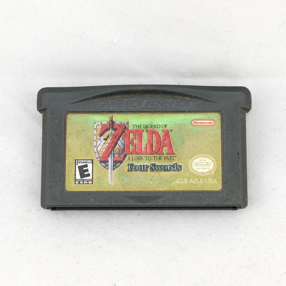 THE LEGEND OF ZELDA A LINK TO THE PAST FOUR SWORDS FOUR SWORDS