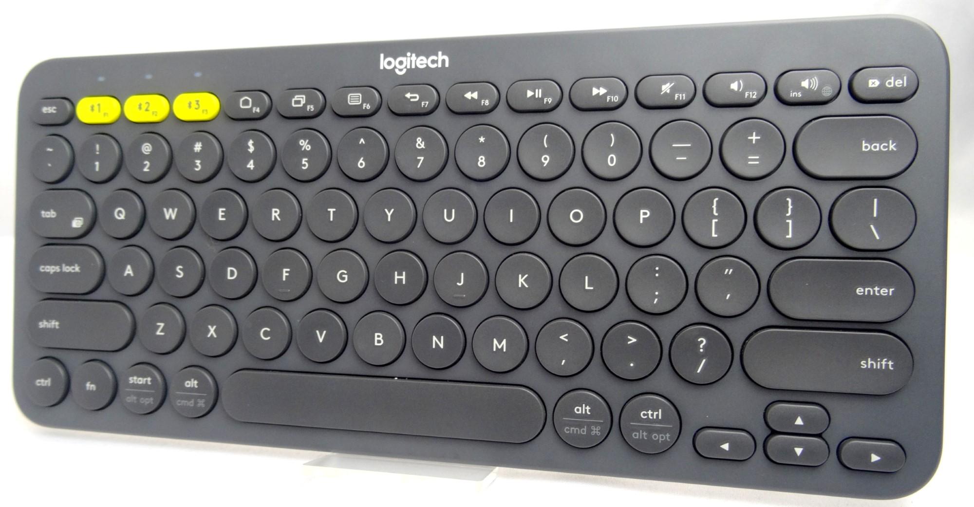 Logitech Multi-Device Bluetooth Keyboard K380 Grey