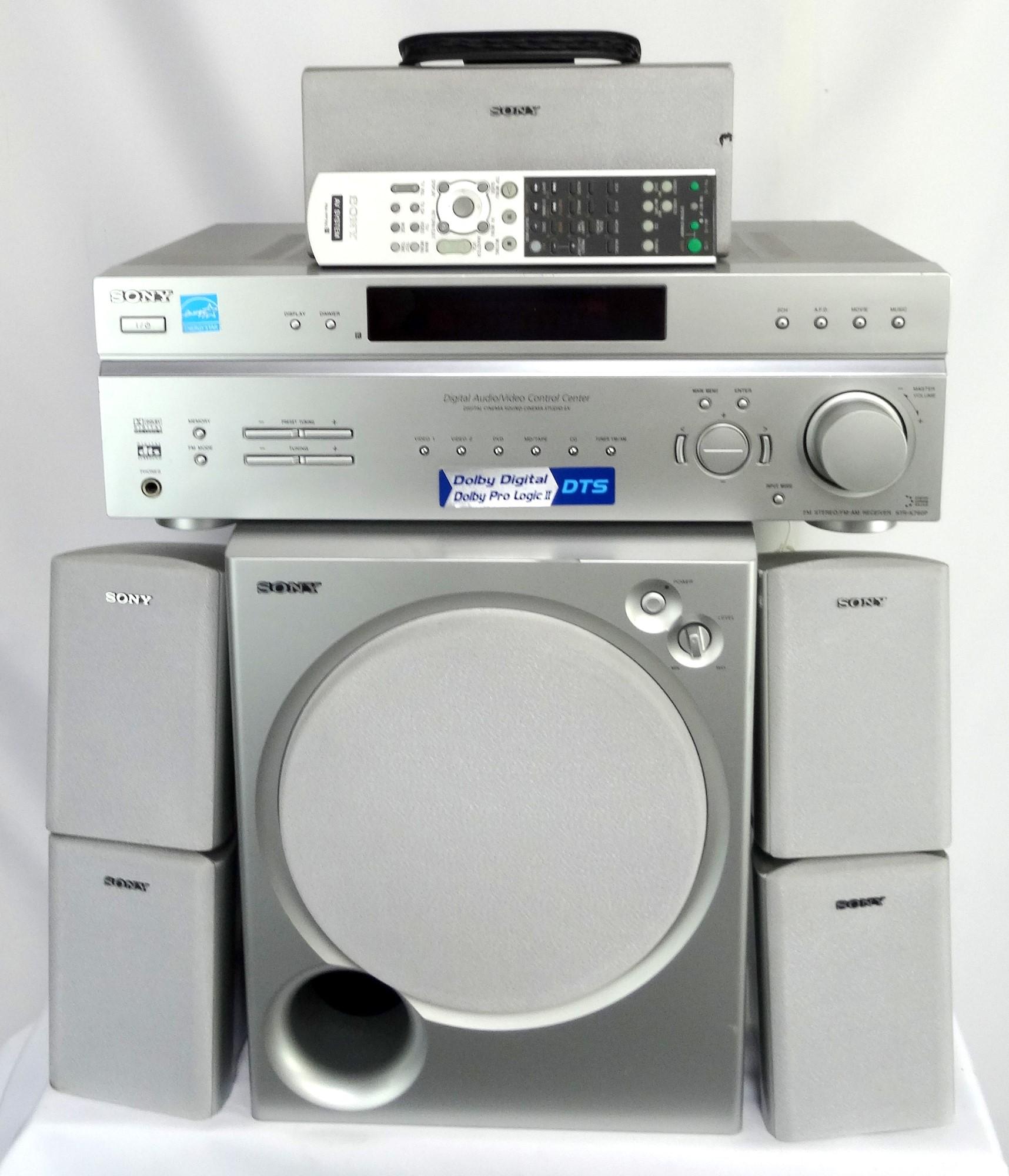 Sony 51 Surround Sound System GREY