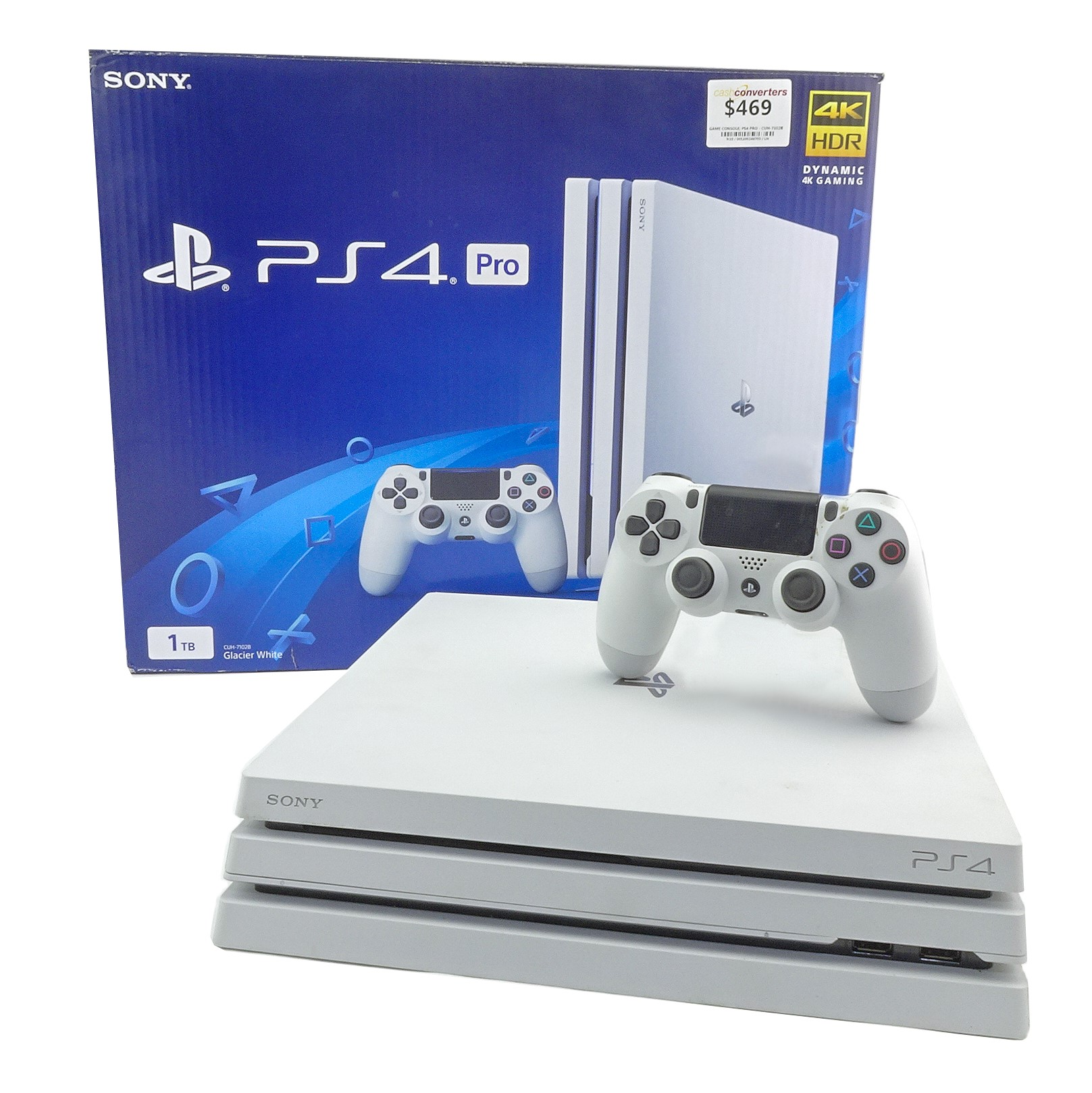 PS4 PRO Playstation 4 Pro 1TB WHITE