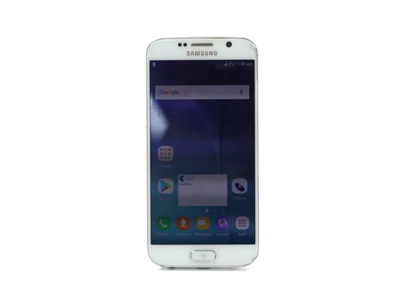 Samsung Galaxy S6 *Screen Burn* Sm-G920i White