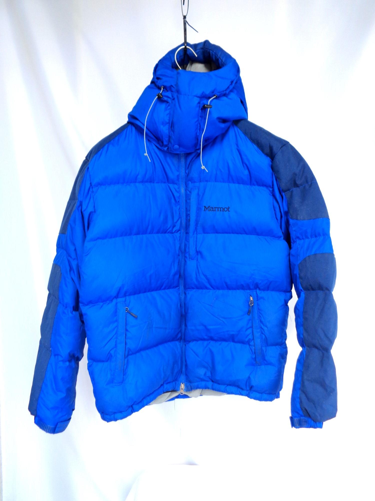 5249f021f Marmot Snow puffer jacket BLUE