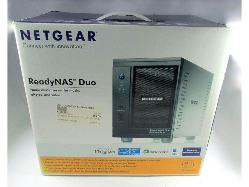 Netgear Ready Nas Duo Ready Nas Deo Black
