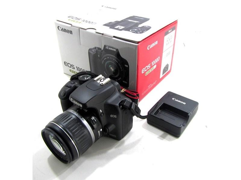 Canon Eos 1000D Ds126191 Black