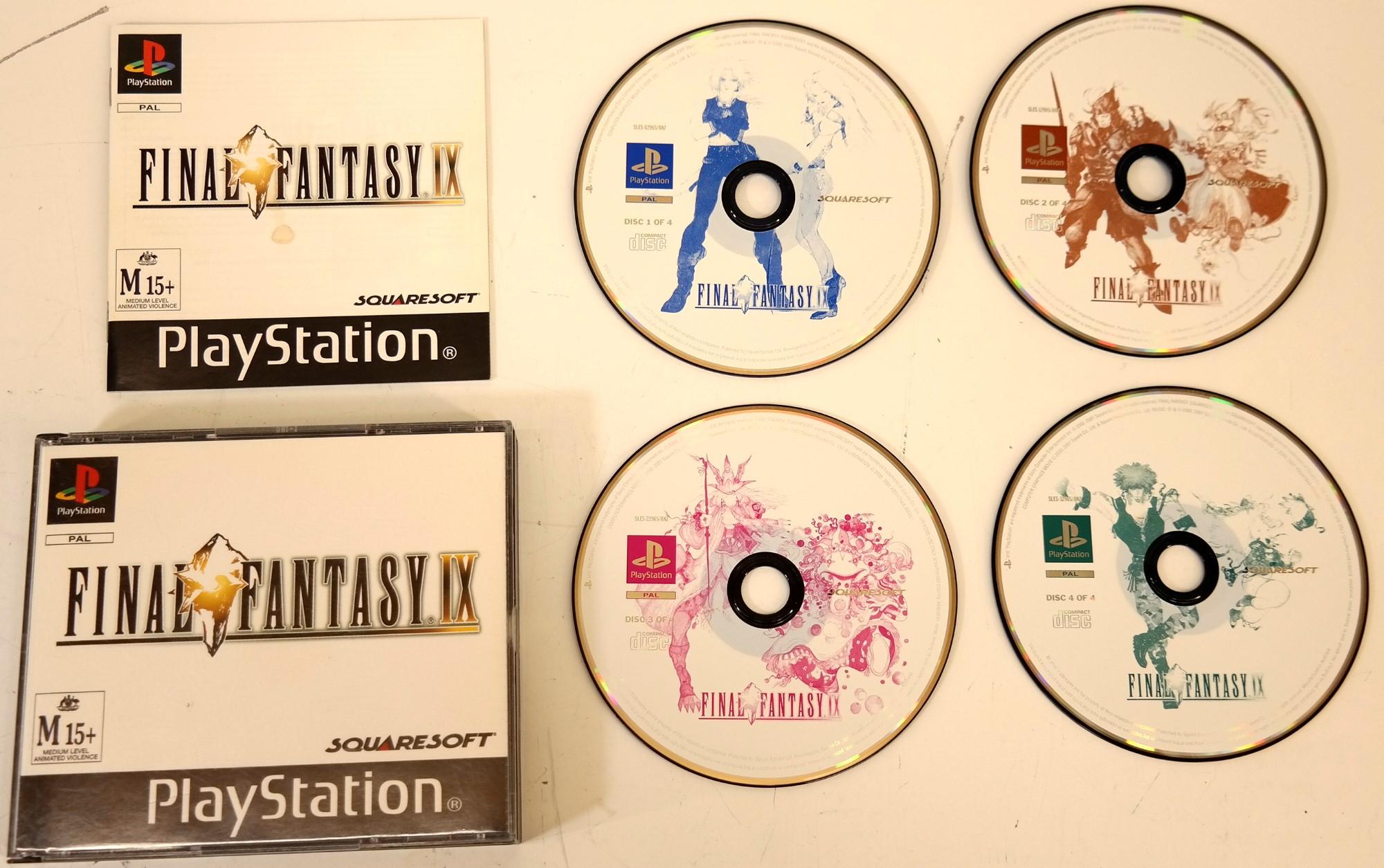 Sony Game Disc FINAL FANTASY IX