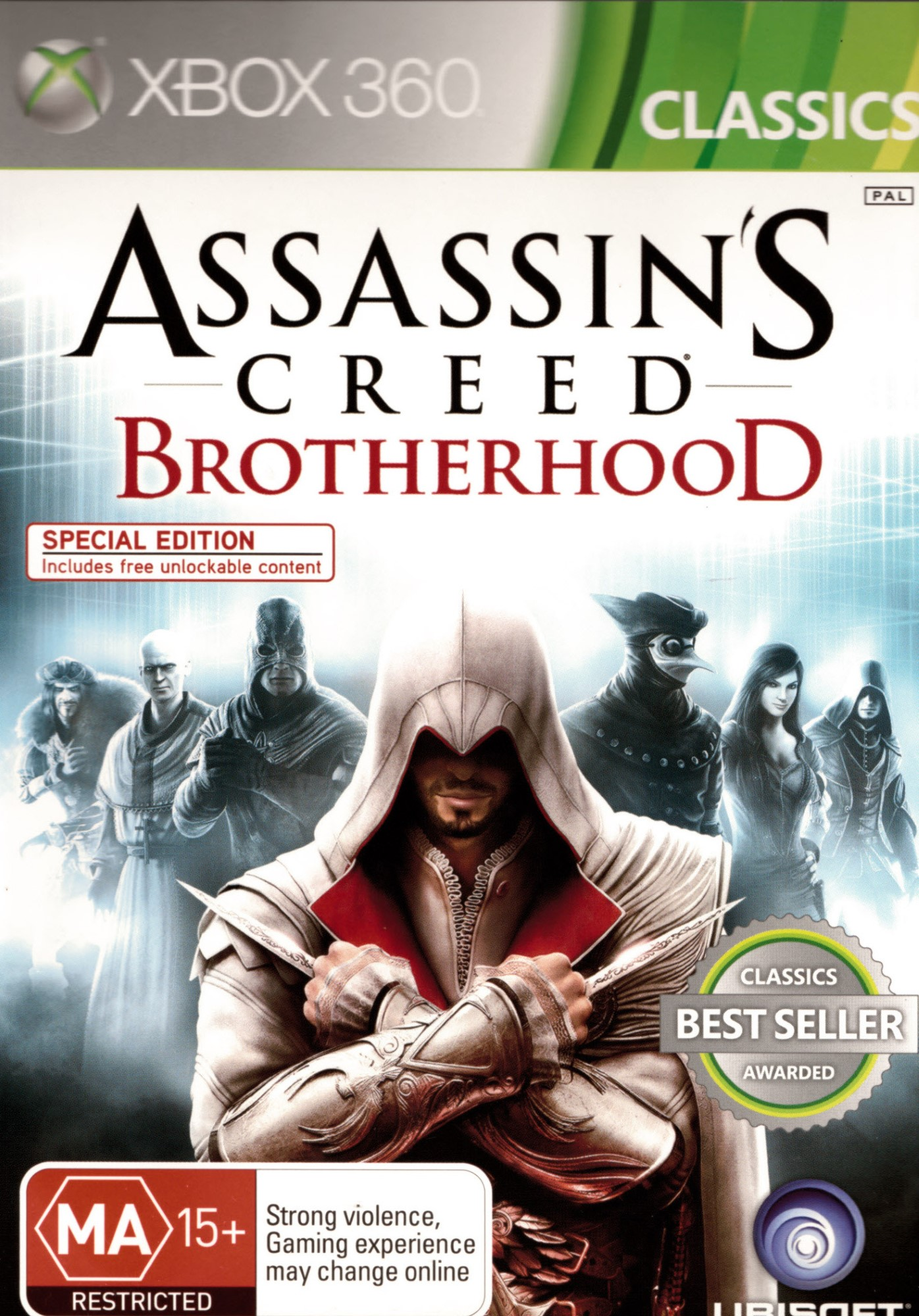ASSASSINS CREED-BROTHERHOOD Xbox 360