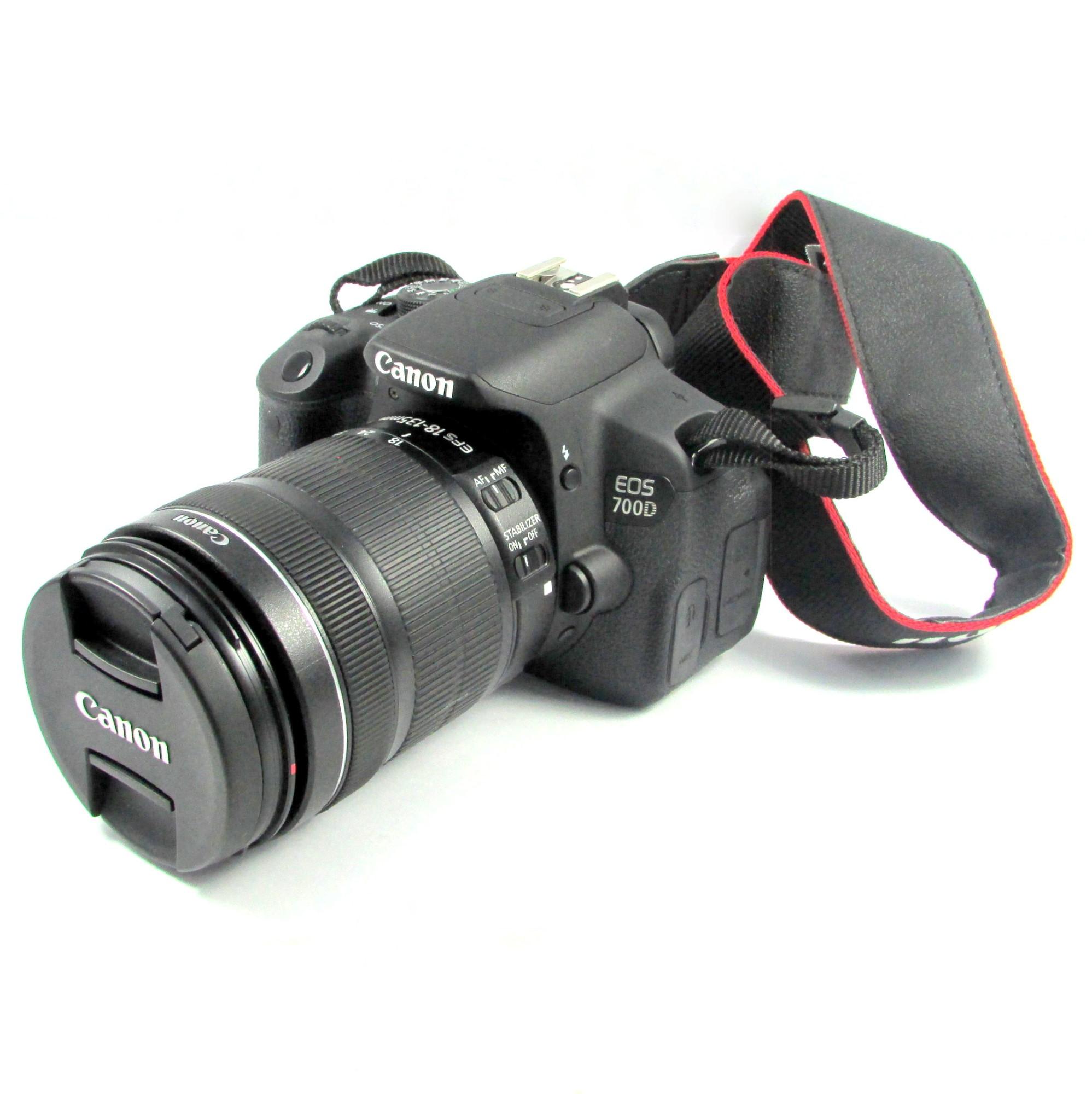 CANON EOS 700D W/18-135MM SINGLE LENS KIT EOS 700 D BLACK