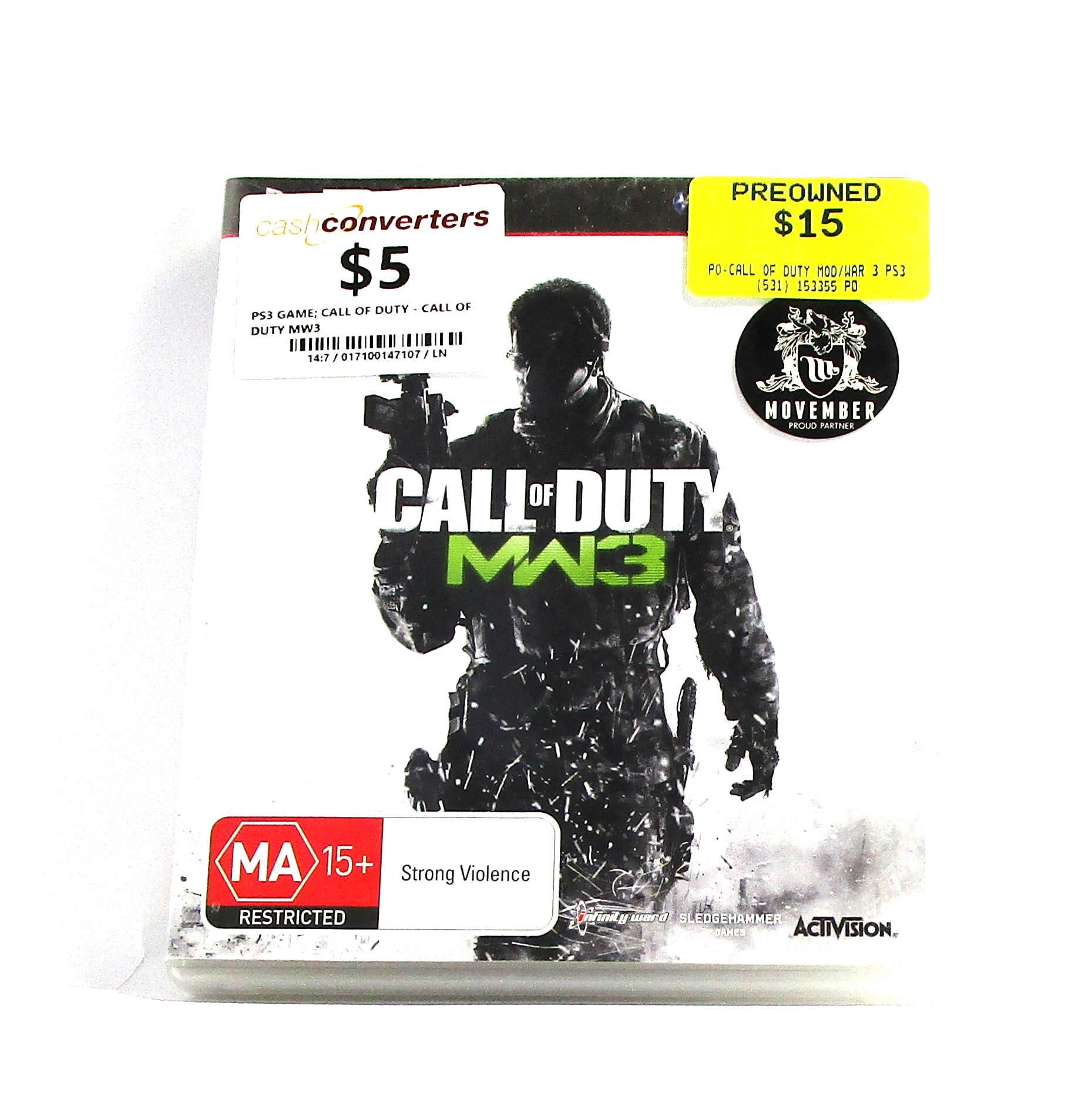 Sony Game Disc CALL OF DUTY MW3