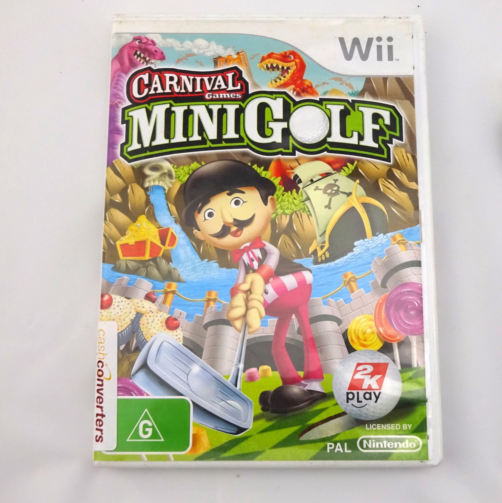Nintendo Game Disc Carnival Games Mini Golf