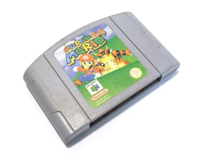 Nintendo Game Cartridge SUPER MARIO 64