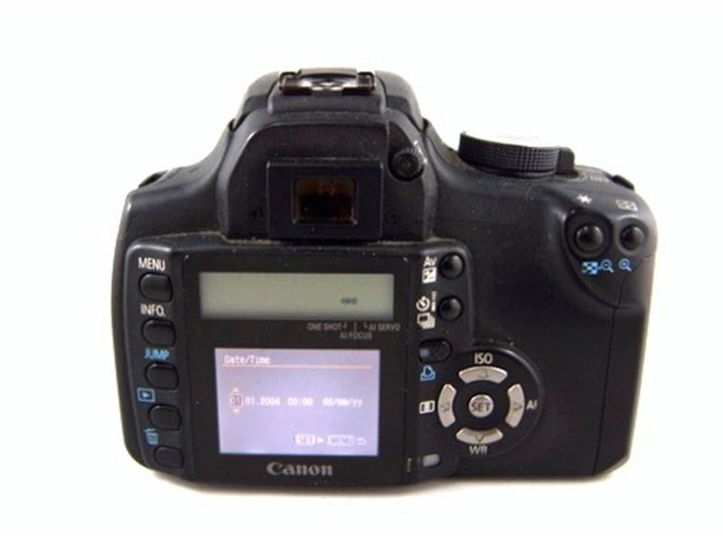 Canon Eos 350D 8 0Mp 18-55Mm Lens Ds126071 Black