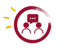 Web Icons - Burgundy +Yellow Star burst_Speak to a person.png